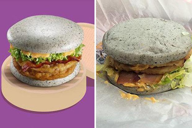 McDonalds komt met nieuwe grijze burger
