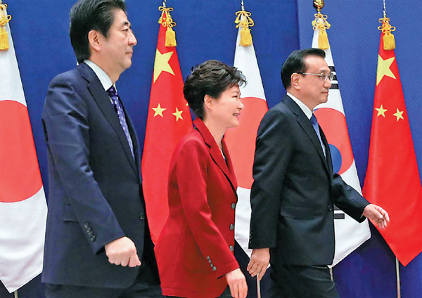 China, Japan, Korea, Trilaterale samenwerking
