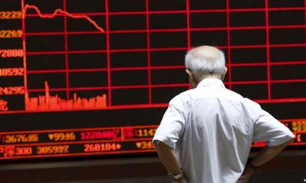 China, ondernemers, Demo China 2015, belegers, aandelen markt